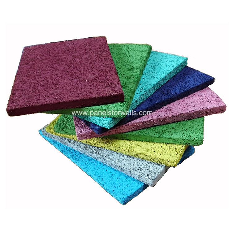 Wood Wool Acoustic Panel Made in China Wood Wool Cement Board China